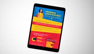 Infográfico Gratuito: Programa Jovem Aprendiz | Tire as suas dúvidas