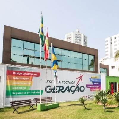 Escola Técnica Geração - Fachada Unidade Itajaí