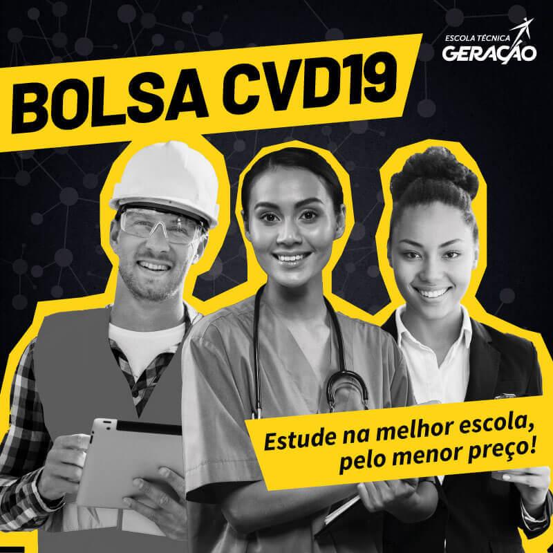 Bolsa COVID-19 - Estude na melhor escola, pelo menor preço
