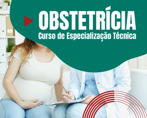 Técnico em enfermagem avaliando batimento cardíaco do bebê na barriga da mãe - Especialização em Obstetrícia para Técnicos em Enfermagem