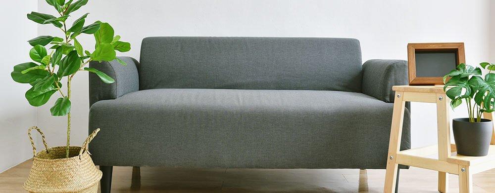 Sofá da sala de estar